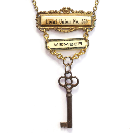 Local Union No. 536 Member Necklace